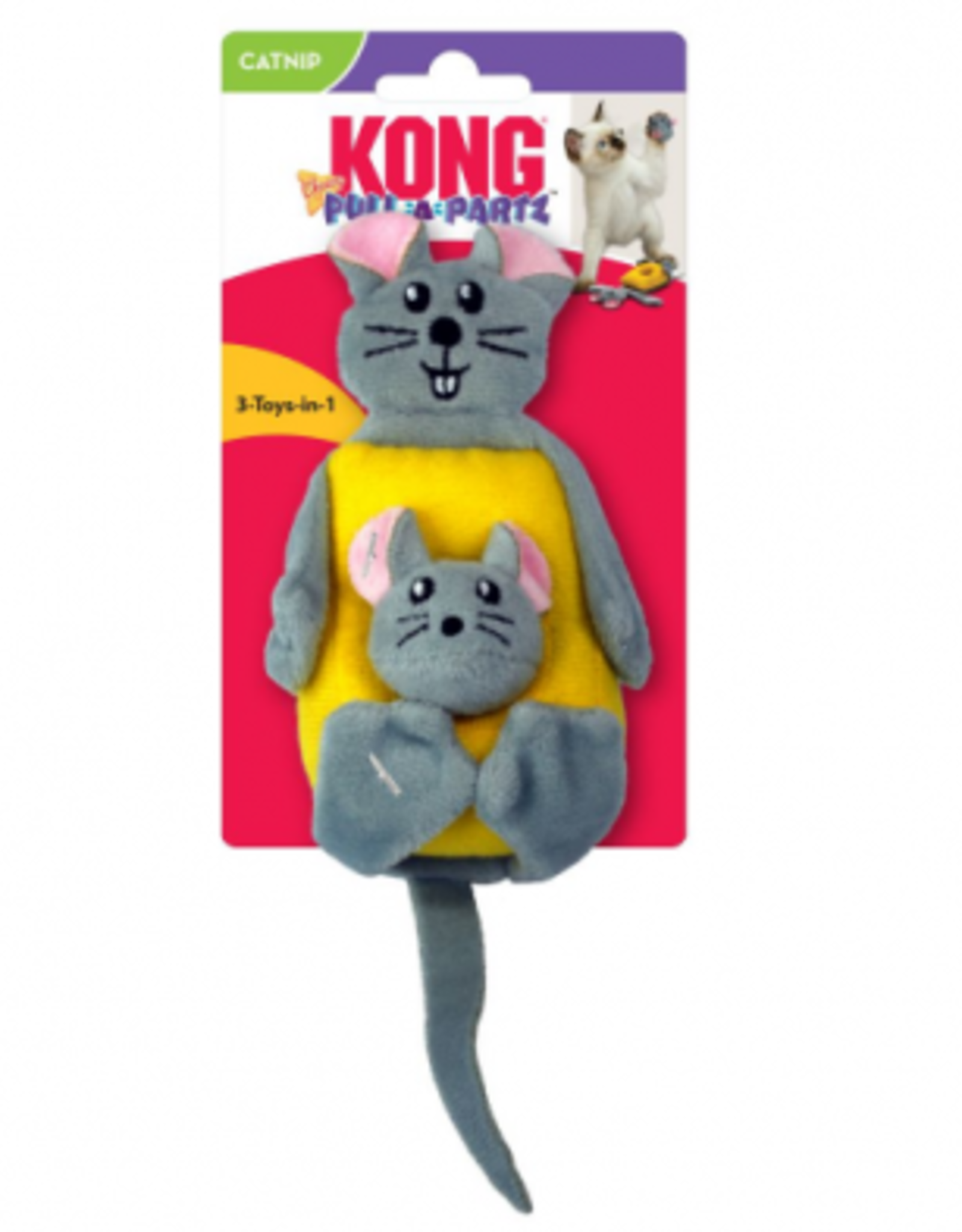 Kong Pull-a-part Cheezy
