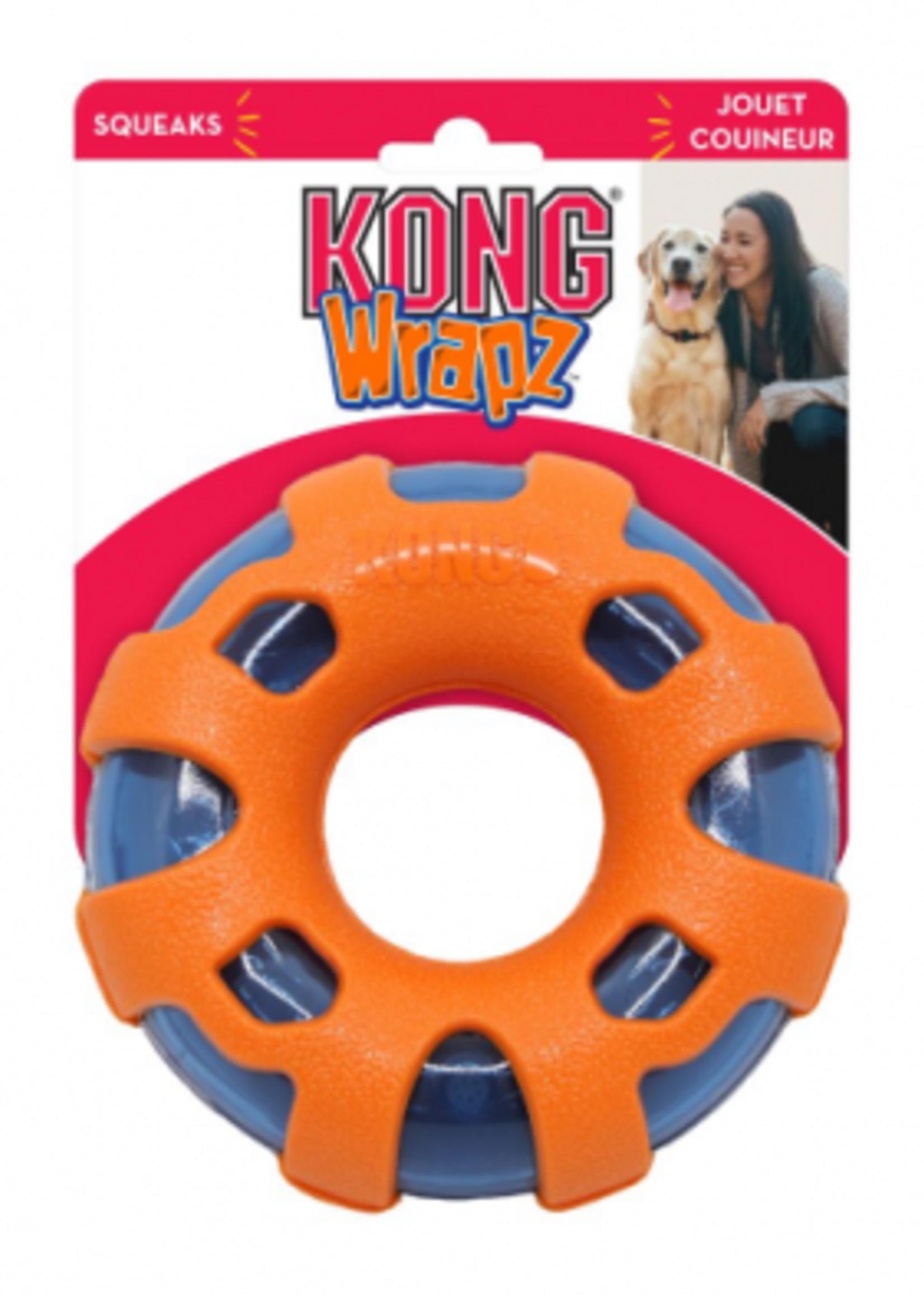 Kong WRAPZ RING LARGE DOG TOY