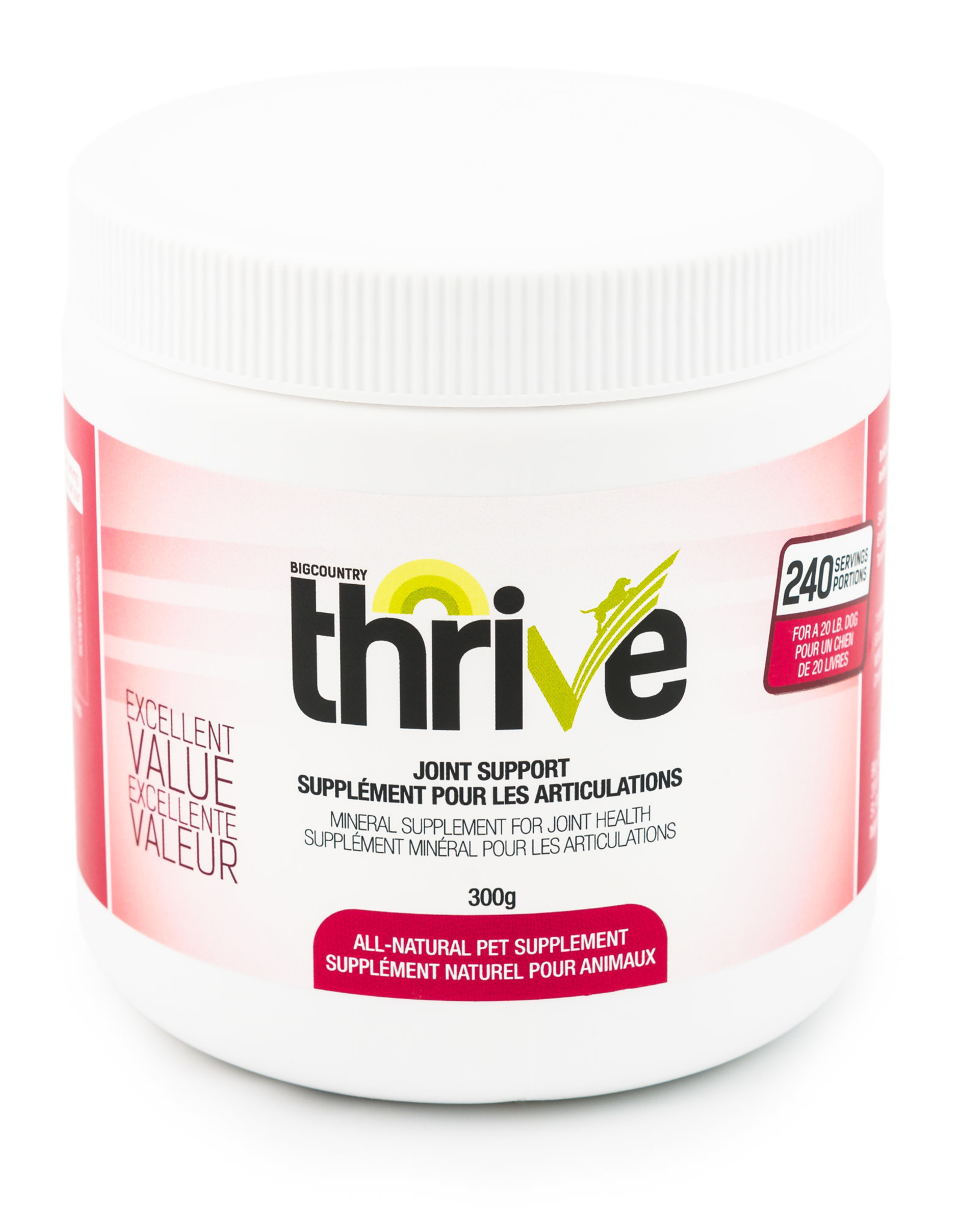 Big Country Raw Thrive Joint Support 300g
