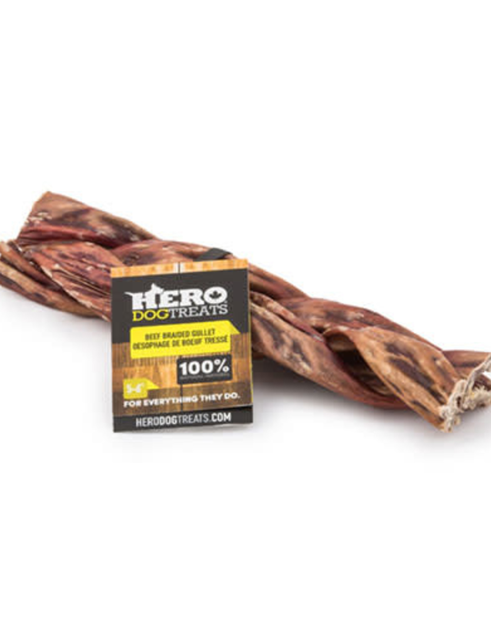 Big Country Raw Hero Beef Gullet Braided 5-6 in