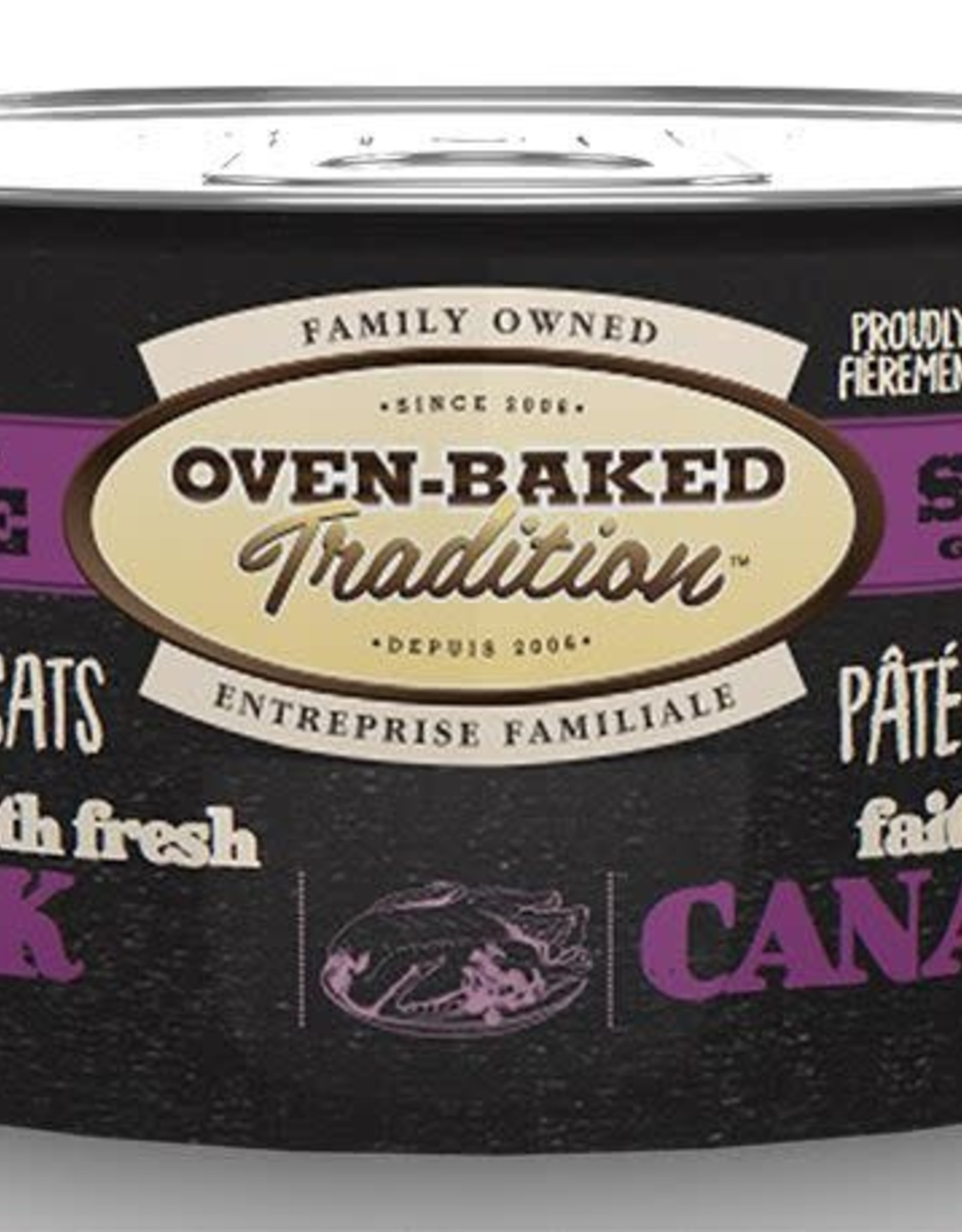Oven Baked Tradition Grain Free Duck Pate Cat