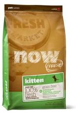 Petcurean Now Fresh Grain Free Kitten Turkey Salmon Duck 8lbs