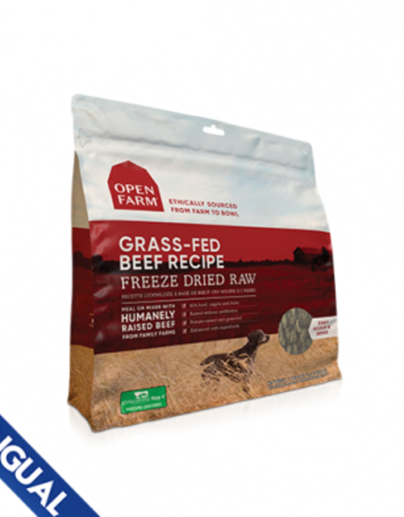 Open Farm Freeze Dried Beef 13.5 oz