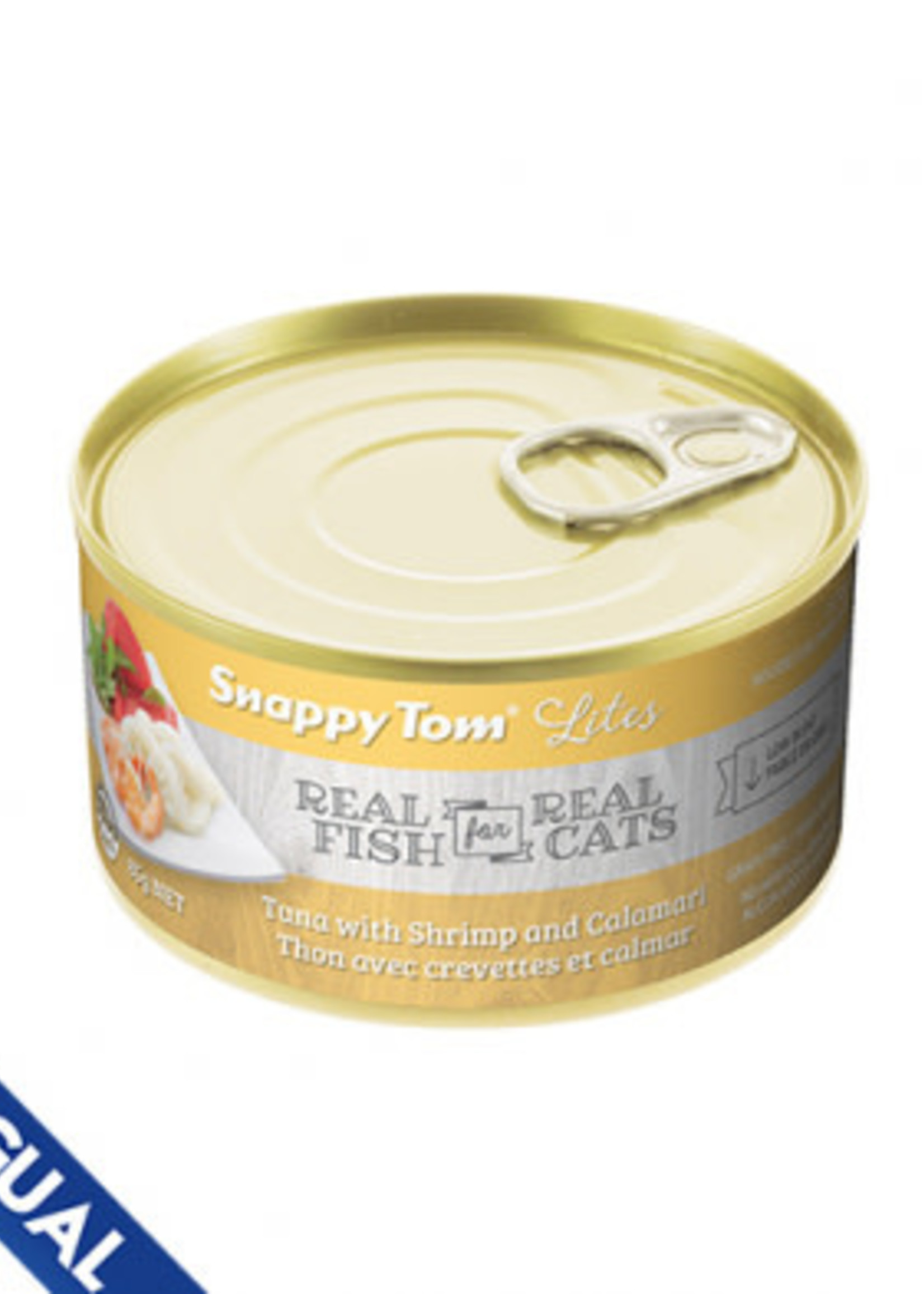 Snappy Tom Snappy Tom Lites Tuna with Shrimp and Calamari 5.5oz