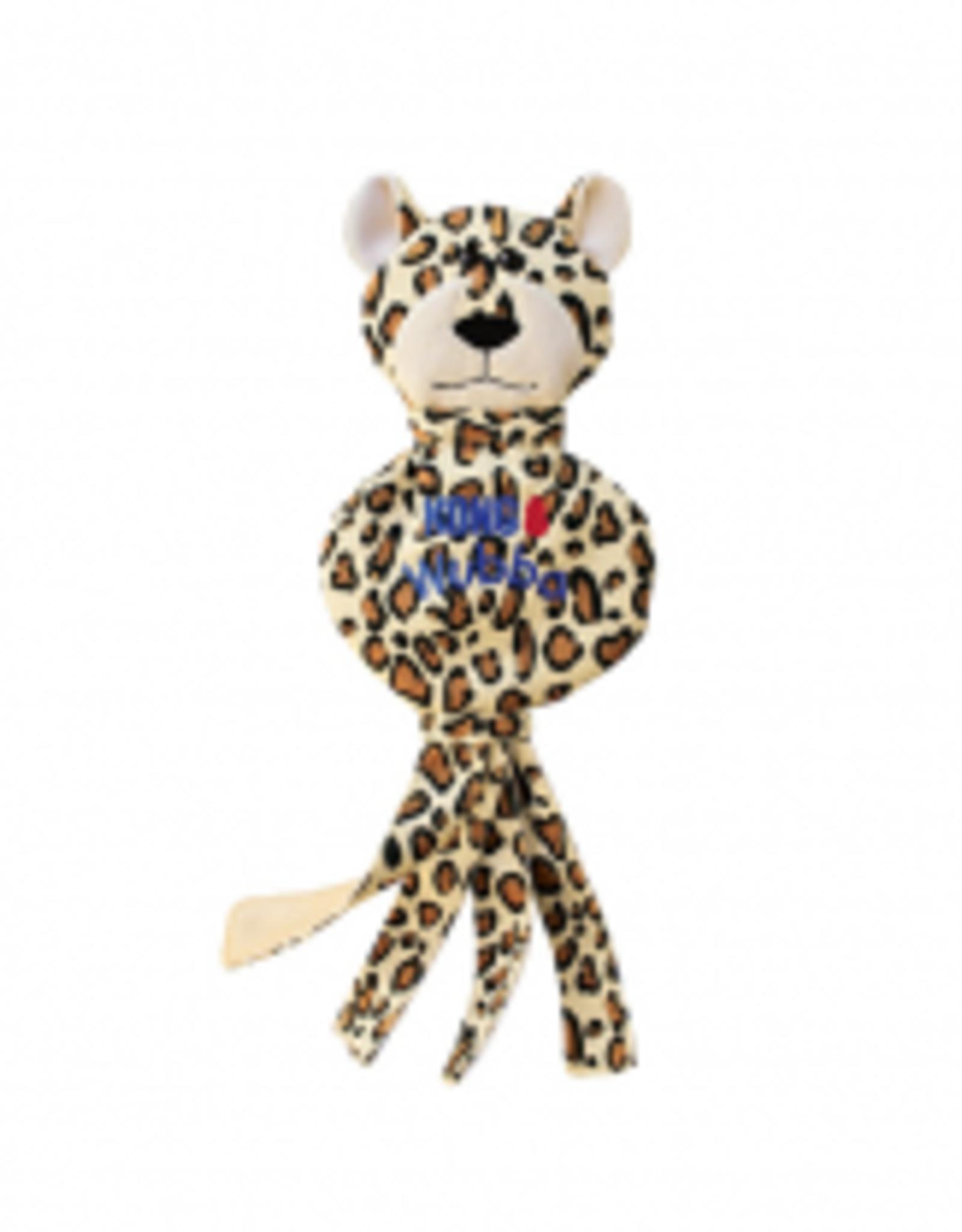 Kong Wubba No Stuff Cheetah Large