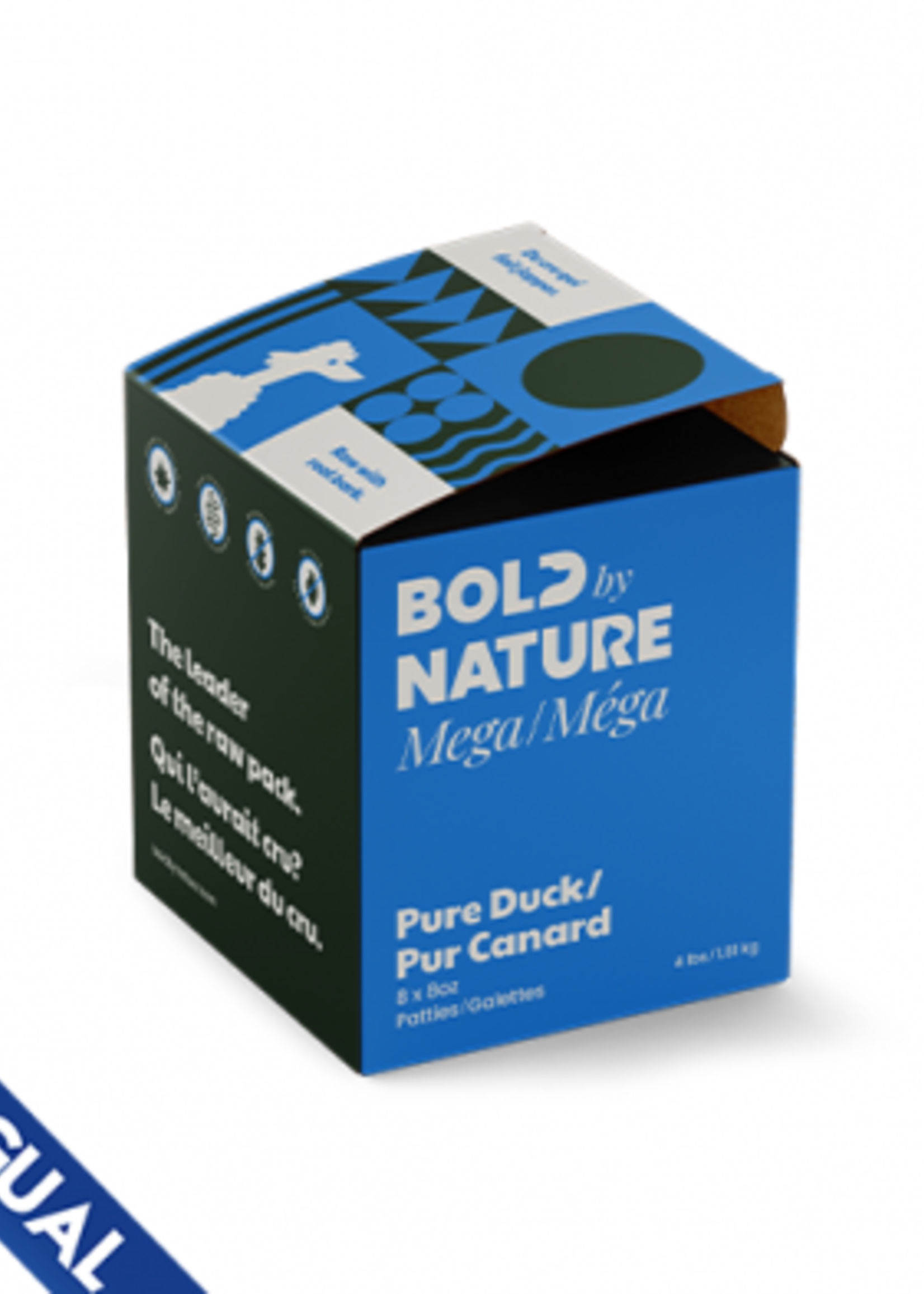 Bold by Nature Mega Pure Duck 4 lb