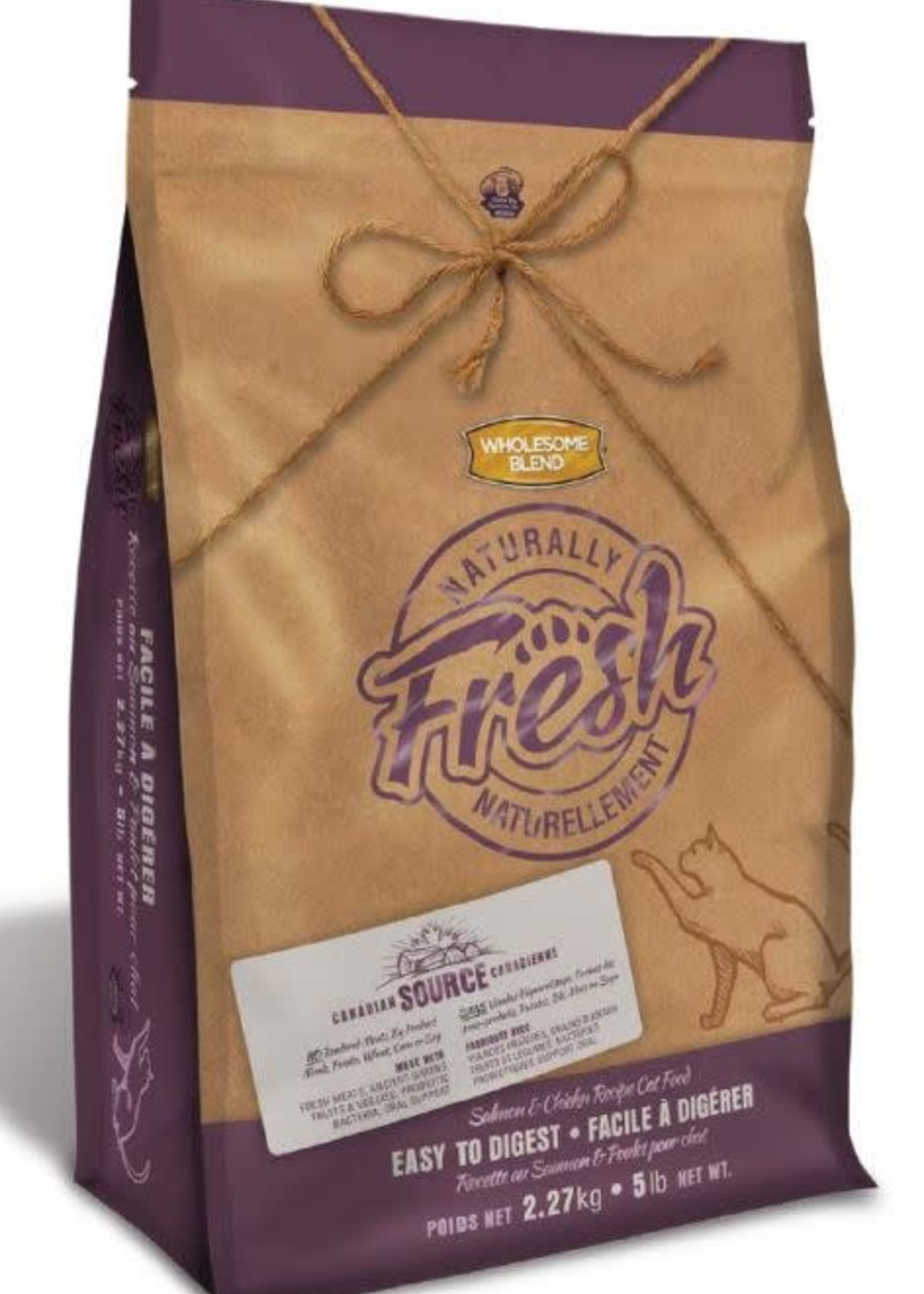 Wholesome Blend Wholesome Blend Naturally Fresh Cat Salmon & Chicken 2.27kg