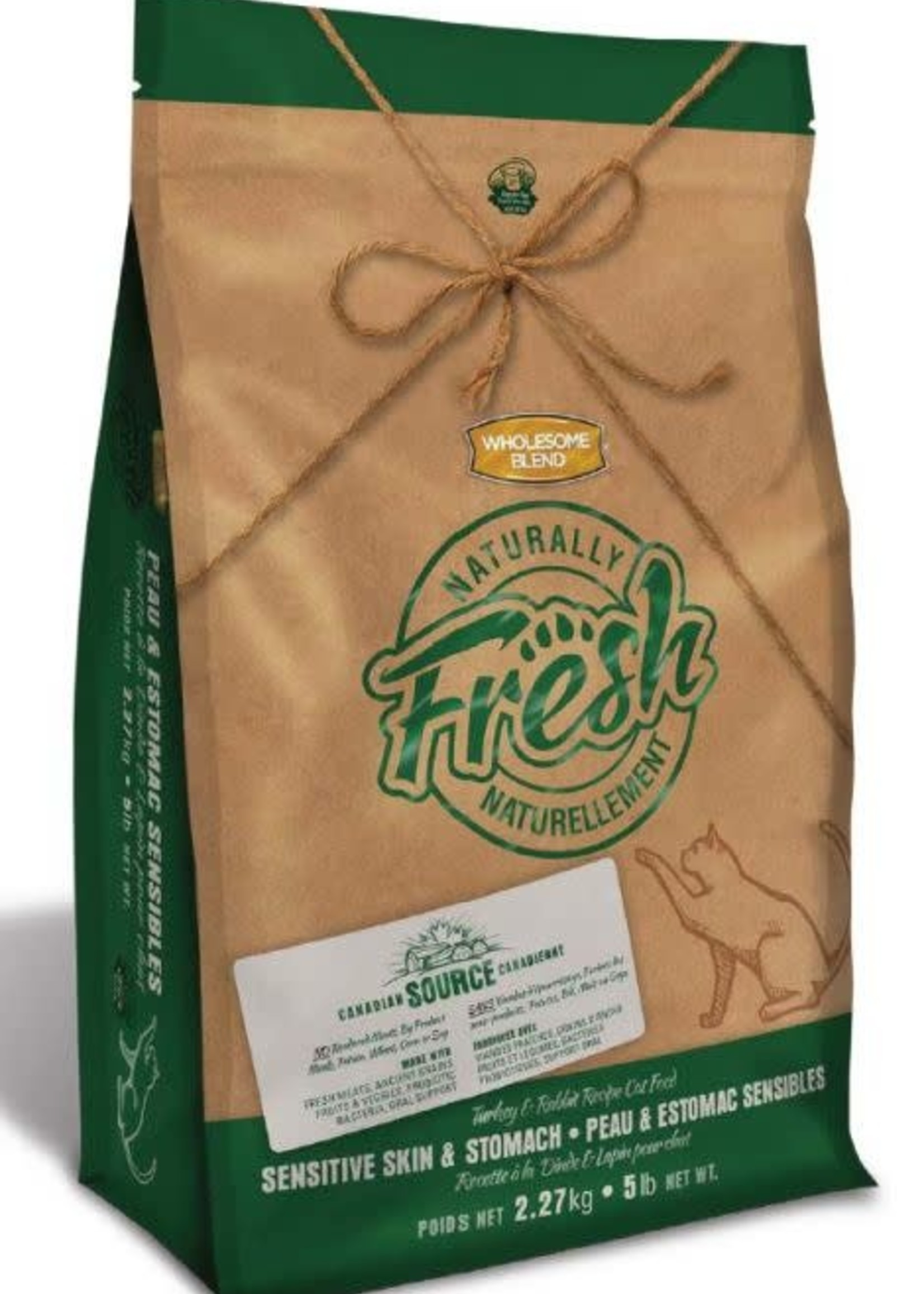 Wholesome Blend Wholesome Blend Naturally Fresh Cat Turkey & Rabbit 2.27kg