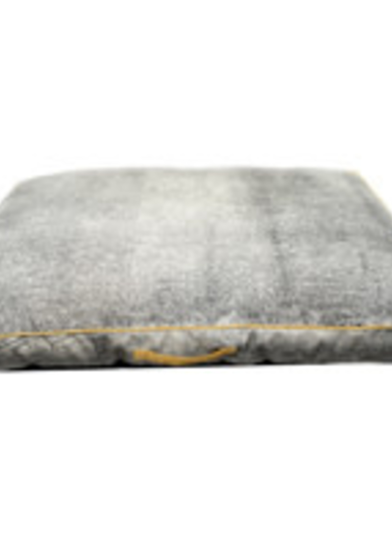 Resploot Resploot Mattress - Rectangular - Grey Smoke - 120 x 80 x 12 cm (47 x 32 x 5 in)