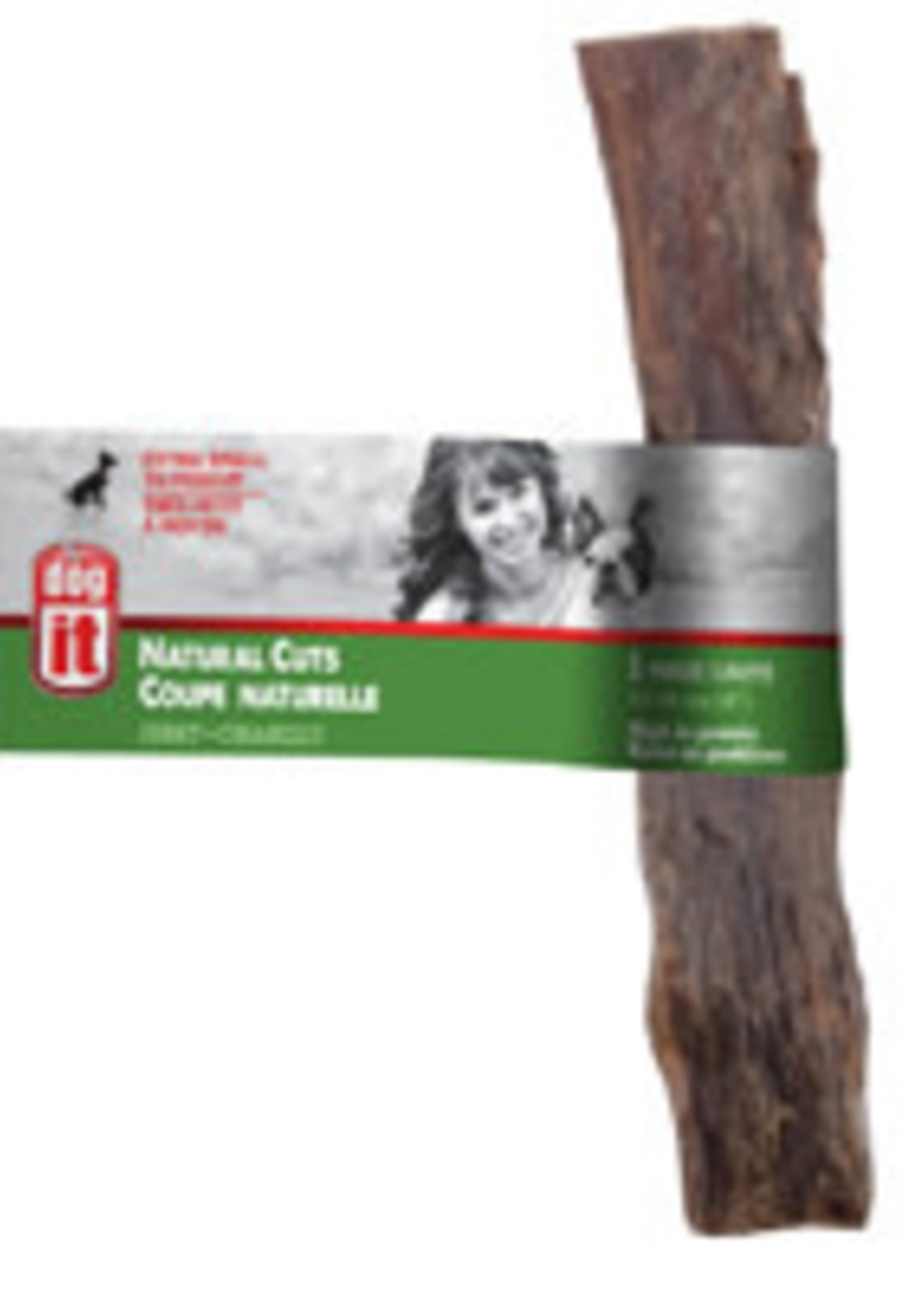 Dogit Natural Cuts Jerky - Straight - 15.24 cm (6 in) - 1 pack