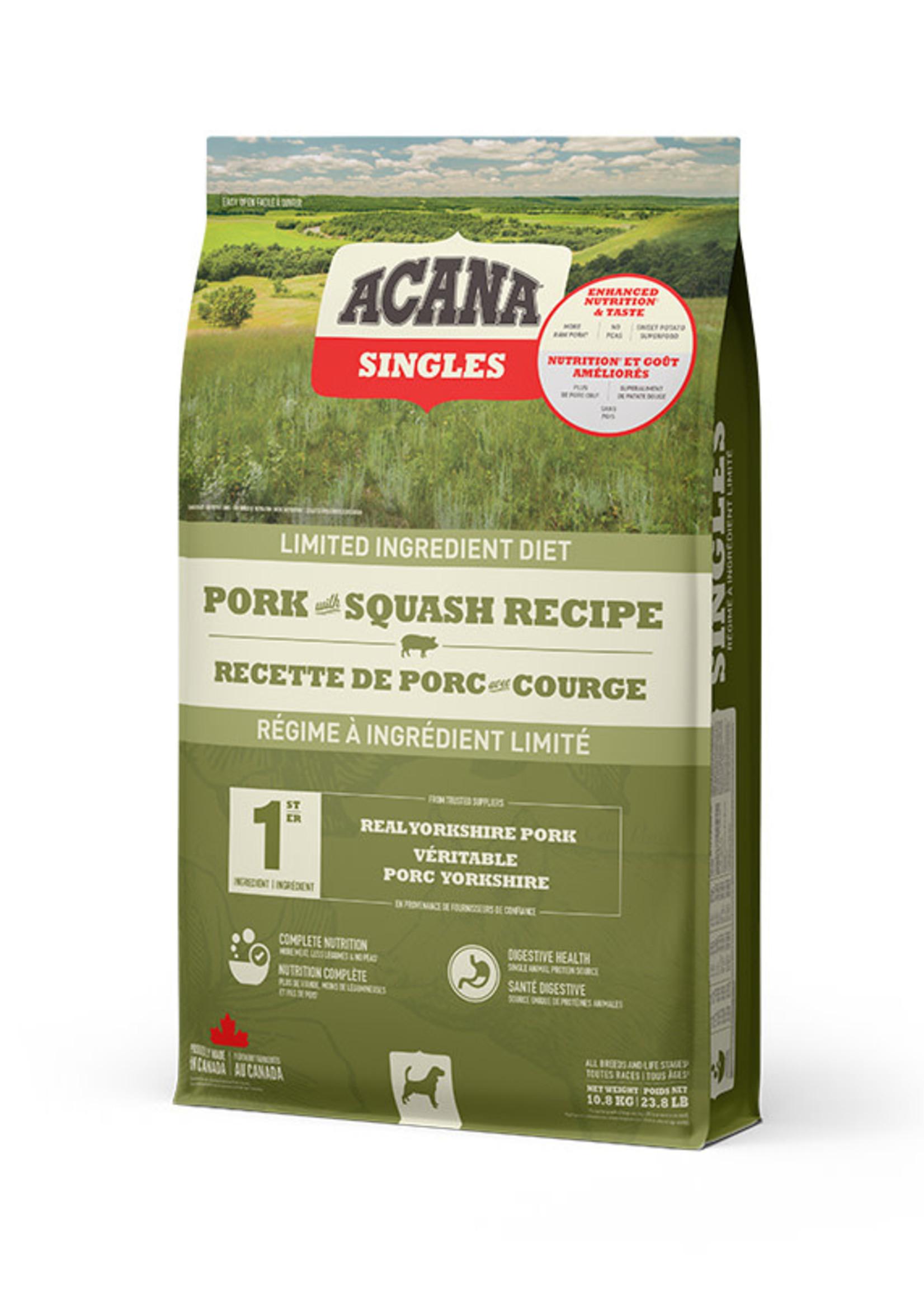 Acana® Acana Dog Singles Pork + Squash 10.8kg