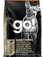 Go Sensitivities LID GF Grain Free Duck 22 lb