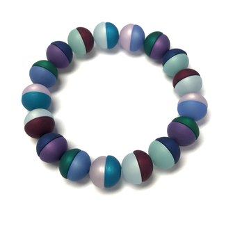 PMA Bracelet Cecelia Split Bead Spring Teal