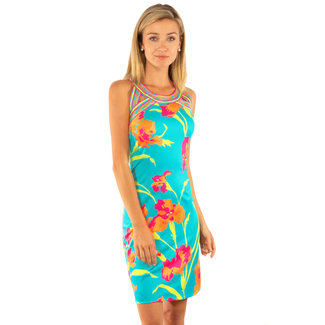 Gretchen Scott Isosceles Dress - Iconic Iris