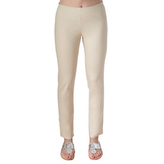 Gretchen Scott GripeLess Cotton Spandex Pull-On Pants
