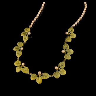 Michael Michaud Design Michael Michaud Water Lilies Statement Necklace