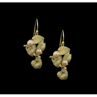 Michael Michaud Design Michael Michaud Water Lilies Wire Earrings - Wire Dangle