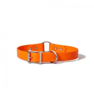 Filson Filson Webbing Dog Collar, Blaze Orange