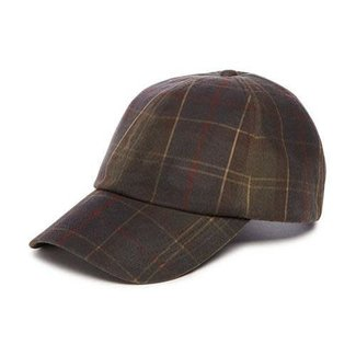 Barbour Tartan Wax Sports Cap Classic