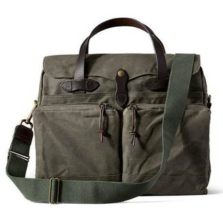 Filson Filson 24-Hour Tin Briefcase Otter Green
