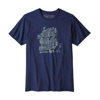 Patagonia Patagonia Men's Unplug Organic T-shirt Navy