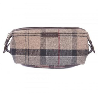 Barbour Tartan Wash Bag
