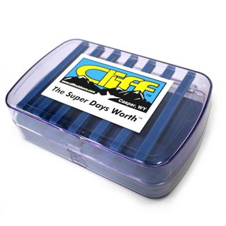 Cliff Cliff The Super Days Worth Fly Box