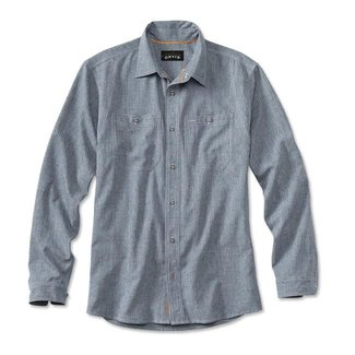 Orvis Orvis Men's Tech Chambray Work Shirt