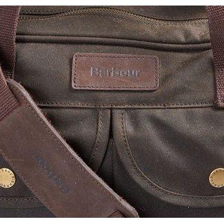 Barbour Barbour Wax Longthorpe Laptop Bag