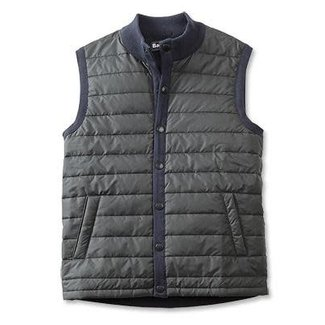 Barbour Barbour Men's Quilt-Front Knit Vest