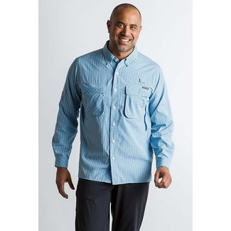 ExOfficio ExOfficio Men's Air Strip Check Plaid Long Sleeve