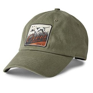 Orvis Orvis Pointer Patch Twill Hat Olive