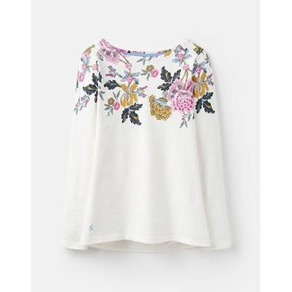 Joules Joules Harbour Print Long Sleeve Jersey Top