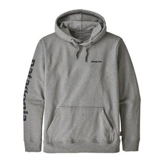 Patagonia Patagonia Men's Text Logo Uprisal Hoody Gravel Heather