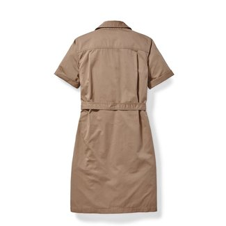 Filson Filson Women's Colville Short-Sleeve Shirt Dress Dark Tan