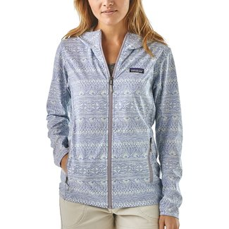 Patagonia Patagonia Women's Bajadas Hoody Tradewinds Small: Light Violet Blue