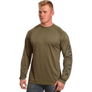 Filson Filson Long Sleeve Barrier T-shirt - Warm Khaki