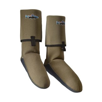 Patagonia Patagonia Neoprene Wading Socks with Gravel Guard Light Bog