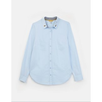 Joules Joules Lucie Woven Shirt - Blue with Bees