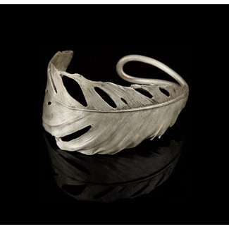 Michael Michaud Design Michael Michaud Feather Bracelet - Cuff Silver