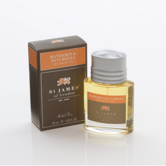 St. James of London St. James of London Pre-Shave Oil Mandarin & Patchouli