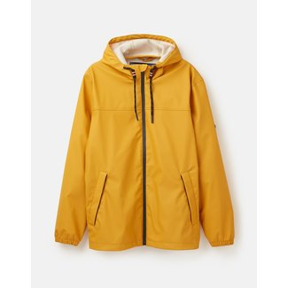 Joules Joules Portwell Lightweight Waterproof Jacket Antique Gold