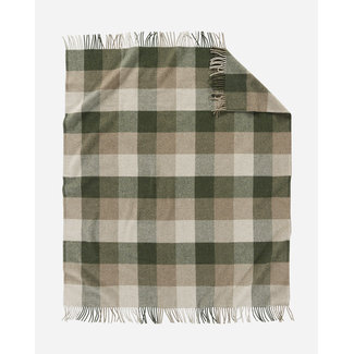 Pendleton Pendleton Eco-wise Washable Wool Throw, Juniper