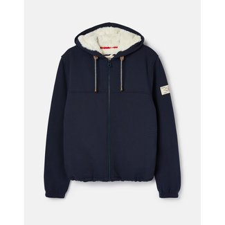 Joules Joules Women's Joanna French Navy Zip Through Hoodie