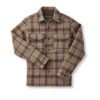 Filson Filson Men's Mackinaw Jac-Shirt - Taupe/Brown/Black Plaid