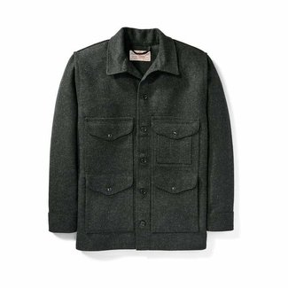 Filson Filson Mackinaw Wool Cruiser Jacket Charcoal 46