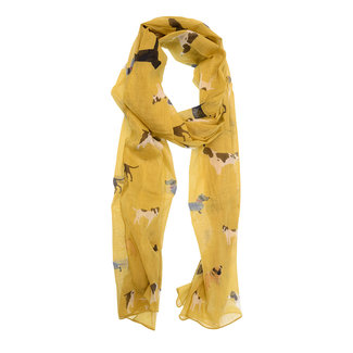 Joy Susan Cotton Dog Scarf