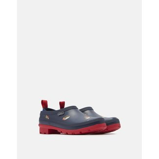 Joules Joules Pop On Rubber Clogs - Navy Robins