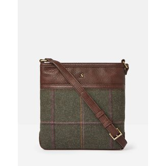 Joules Joules Uxhall Tweed Shoulder Bag