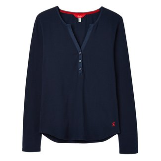 Joules Joules Women's Cici Long Sleeve Jersey Top - French Navy